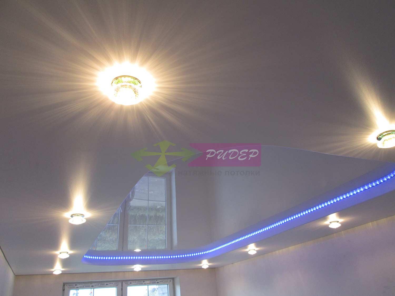 Установка светового декора