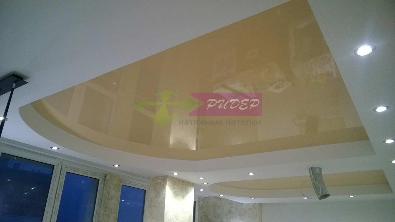 Натяжной потолок глянцевый по выгодной цене