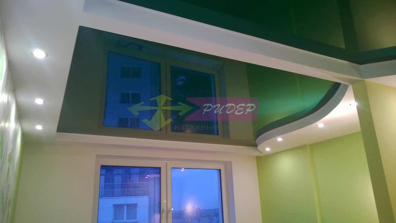Недорогой глянцевый натяжной потолок в Калининграде