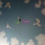 Художественная роспись на потолков