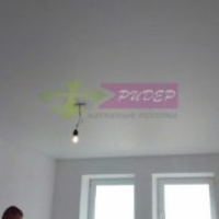 Матовый натяжной потолок в хрущевку