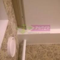 Установка и монтаж матового натяжного потолка в квартиру