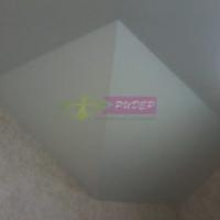 монтаж матового натяжного потолка в компании Ридер