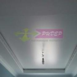 Монтаж и установка сатинового натяжного потолка