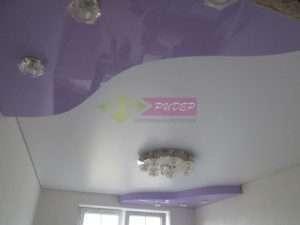 Сатиновый натяжной потолок в Калининграде: монтаж и установка