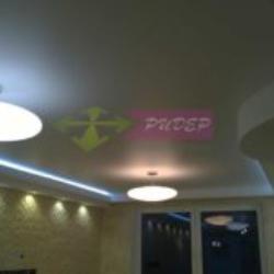 Купить натяжной сатиновый потолок с установкой в Калининграде