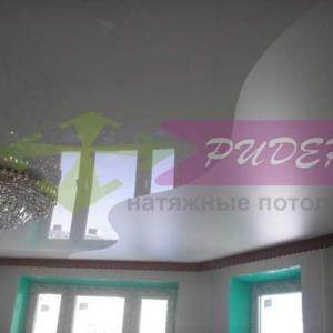 Швы на натяжных потолках по ул. Еловая