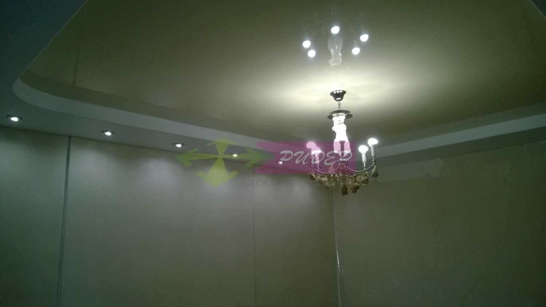 Светильники в натяжных потолках в Калининграде по ул. Северная