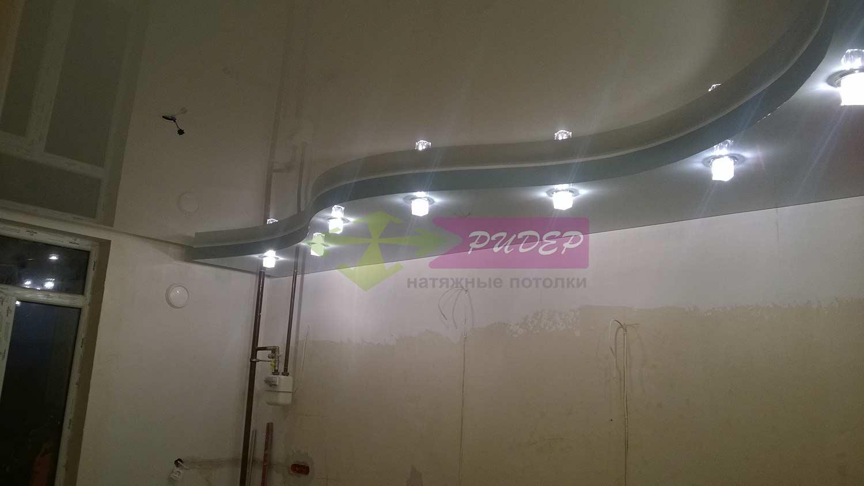 Светильники в натяжных потолках в Калининграде по ул. Стрелецкая