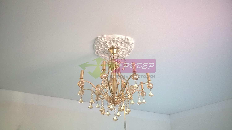Светильники в натяжных потолках в Калининграде по ул. Экипажная