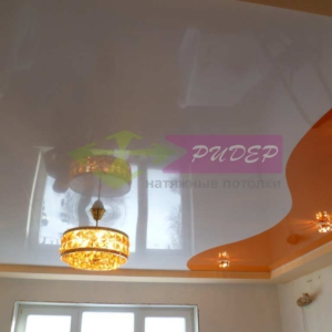 Светильники в натяжных потолках в Калининграде по ул. Чапаева
