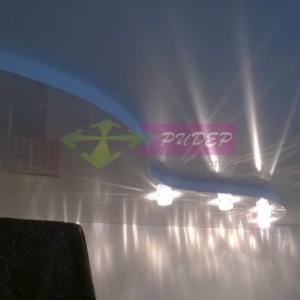 Светильники в натяжных потолках в Калининграде по ул. Червонная
