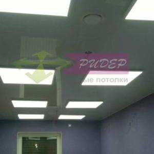 Светильники в натяжных потолках в Калининграде по ул. Саперная