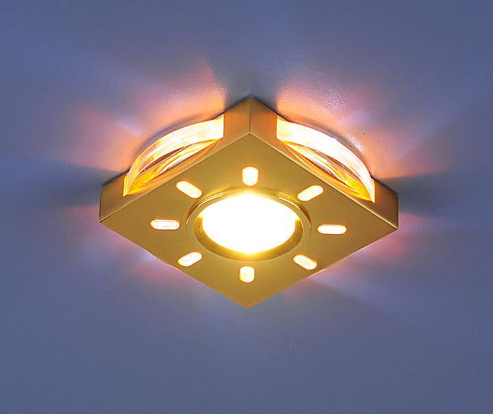 Стильные и недорогие светильники в интерьере натяжных потолков