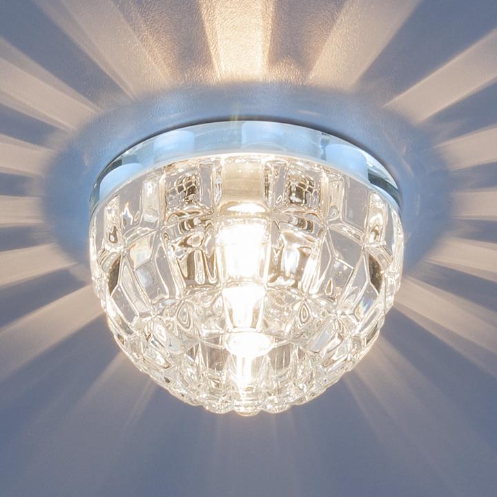 Монтаж и установка красивых светильников для натяжных потолков