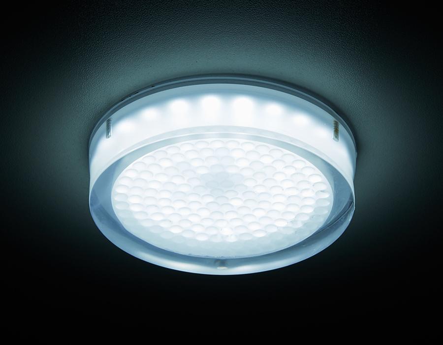 Стильное освещение для натяжных потолков