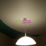 Комбинация цветов натяжного потолка