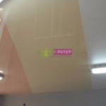 Комбинация цветов натяжного потолка в Калининграде, улица Аральская