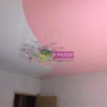 Комбинация цветов натяжного потолка в Калининграде, улица Родниковая