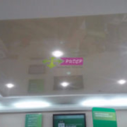 Установка глянцевого натяжного потолка по улице Курортный проспект