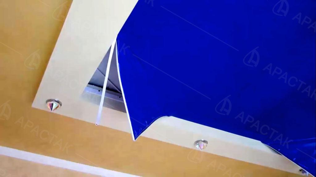 Причины демонтажа натяжного потолка
