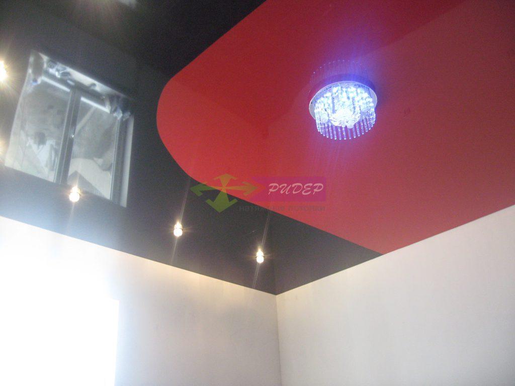 Установка натяжных потолков в комнату