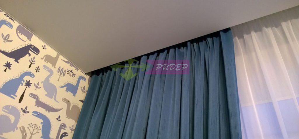 Монтаж натяжного потолка в спальню в Калининграде