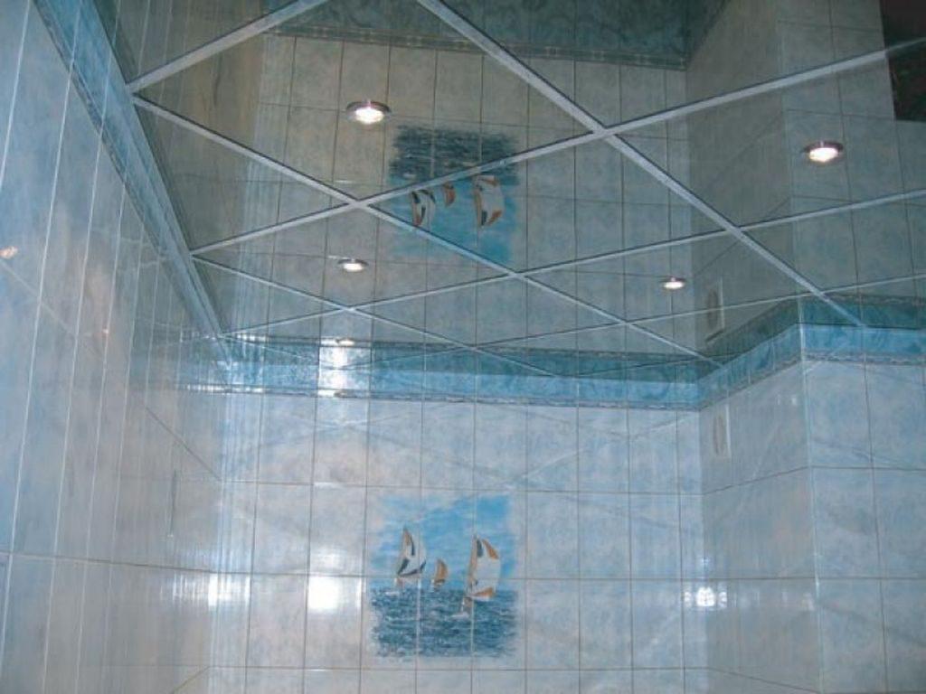 Натяжные потолки в бассейне недорого