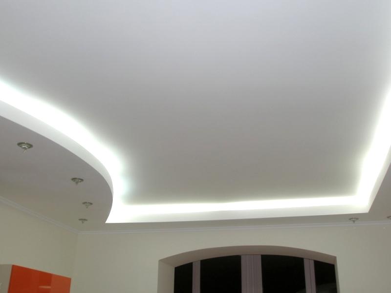 Правильный уход за матовым натяжным потолком