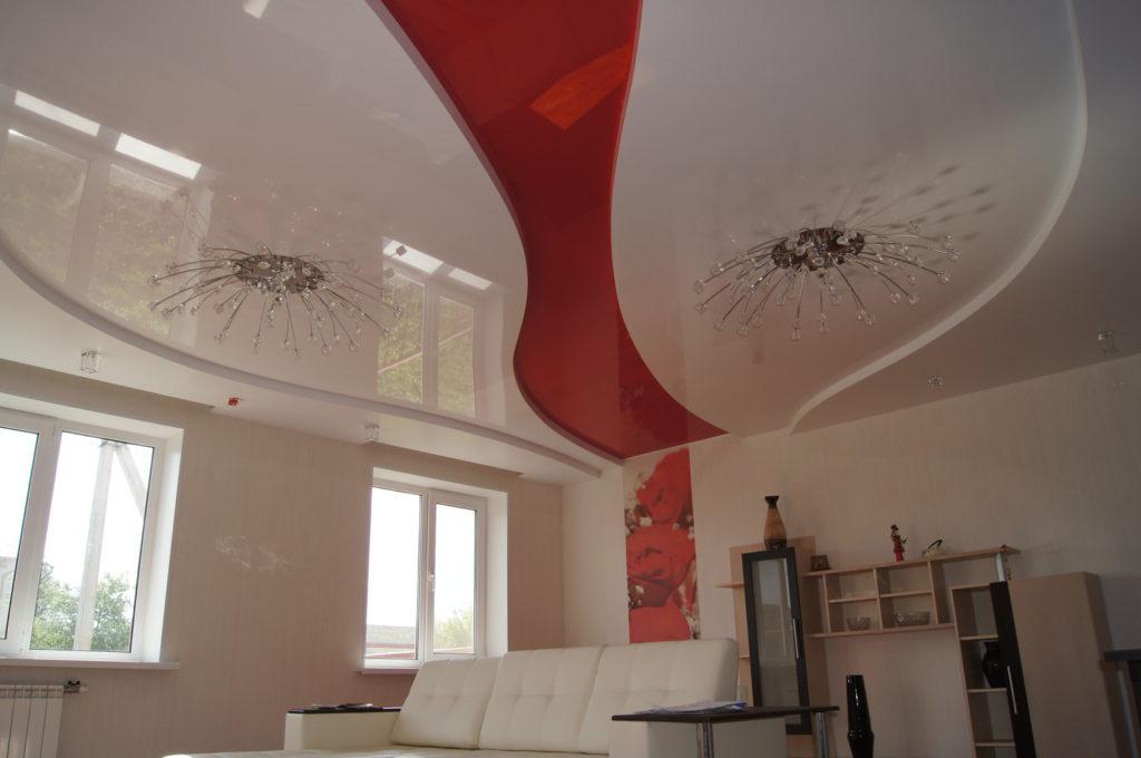 Сложные многоуровневые потолки